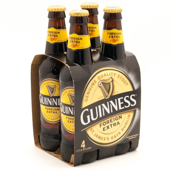 Guinness - Foreign Stout 330ml (11.2oz) Bottle 24pk Case