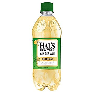 Hal's - New York Ginger Ale 20oz Bottle Case