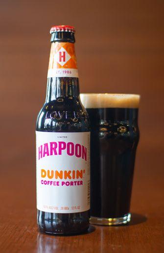 Harpoon - Dunkin' Coffee Porter 12oz Bottle 24pk Case