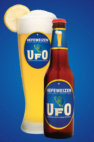 Harpoon - UFO Hefeweizen 12oz Bottle 24pk Case