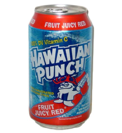 Hawaiian Punch - 12oz Can Case