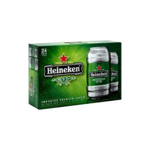 Heineken - Lager 12oz Can 24pk Case