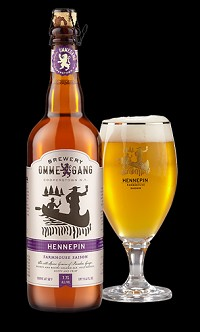 Ommegang - Hennepin 750ml (25.3oz) Bottle 24pk Case