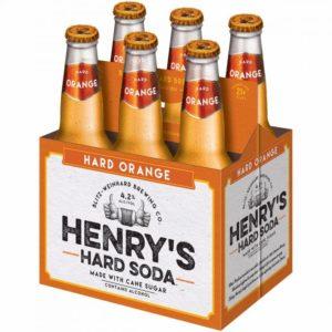 Henry's - Hard Orange Soda 12oz Bottle 24pk Case