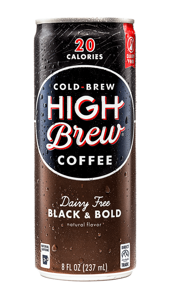 High Brew - Black & Bold 8oz Can Case
