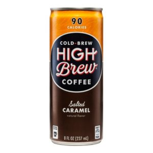 High Brew - Salted Caramel 8oz Can Case