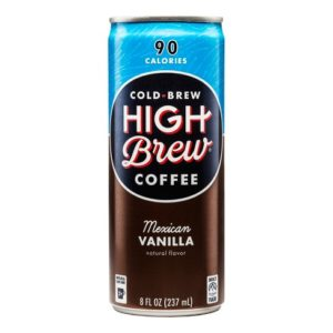 High Brew - Mexican Vanilla 8oz Can Case