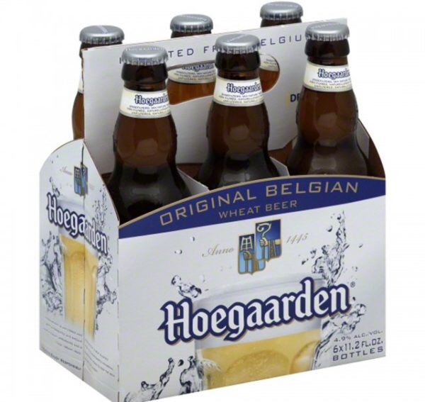 Hoegaarden - WitBier 330ml (11.2oz) Bottle 24pk Case