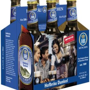 Hofbrau - Dunkel 330ml (11.2oz) Bottle 24pk Case