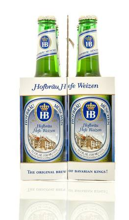 Hofbrau - Hefeweisse 330ml (11.2oz) Bottle 24pk Case