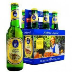 Hofbrau - Original Lager 330ml (11.2oz) Bottle 24pk Case