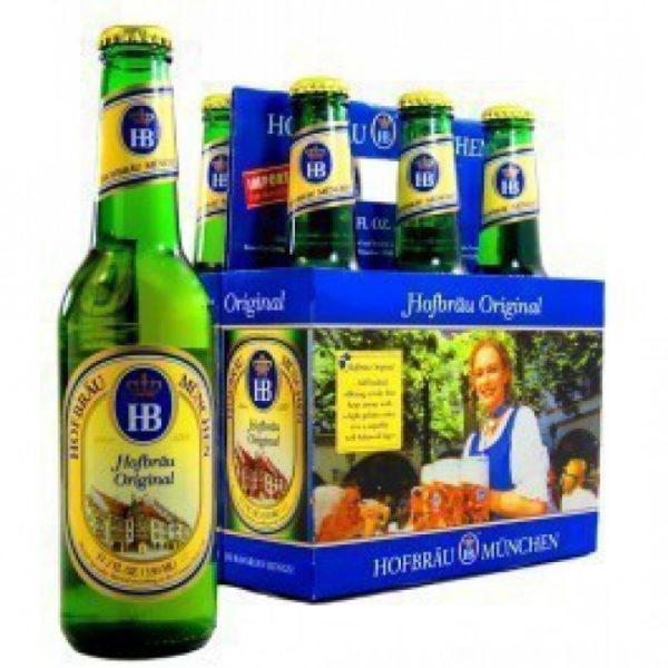 Hofbrau - Original Lager 330ml (11.2oz) Bottle 24pk Case