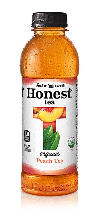 Honest - Peach Tea 16.9oz Bottle Case