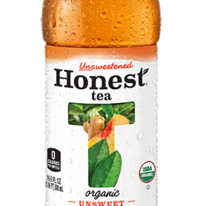 Honest - Unsweetened Peach Ginger Tea 16.9oz Bottle Case