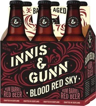 Innis & Gunn - Blood Red Sky Rum Aged 330ml (11.2oz) Bottle 24pk Case
