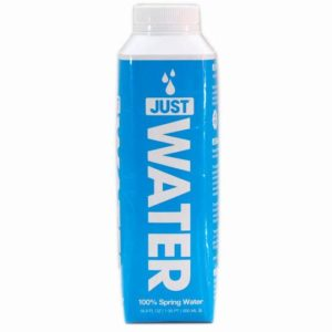 Just Water - 500ml (16.9oz) Paper-Based Bottle Case - 12 Pack