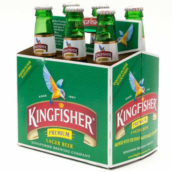 Kingfisher - Lager 12oz Bottle 24pk Case