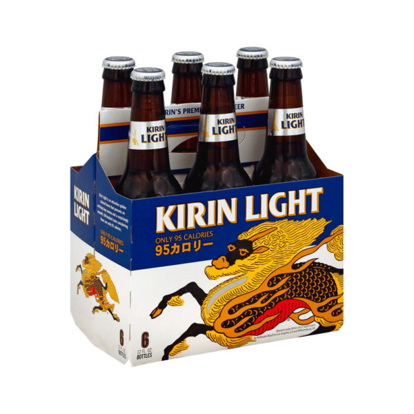 Kirin - Light 12oz Bottle 24pk Case