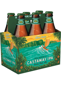 Kona - Castaway IPA 12oz Bottle 24pk Case