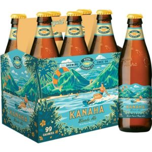 Kona - Kanaha Blonde Ale 12oz Bottle 24pk Case