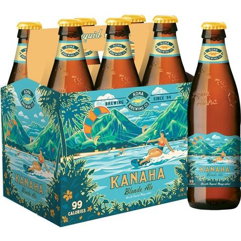 Kona - Kanaha Blonde Ale 12oz Bottle 24pk Case