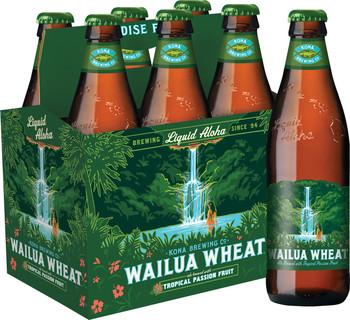 Kona - Wailua Wheat 12oz Bottle 24pk Case