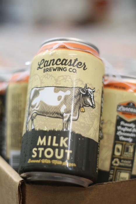 Lancaster - Milk Stout 12oz Can 24pk Case