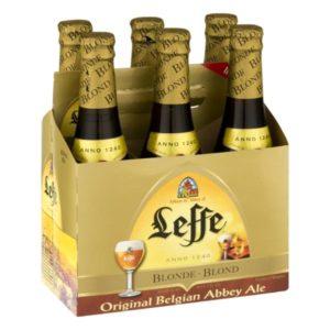 Leffe - Blonde Ale 330ml (11.2oz) Bottle 24pk Case