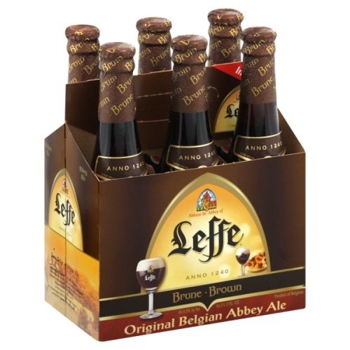 Leffe - Brown Ale 330ml (11.2oz) Bottle 24pk Case