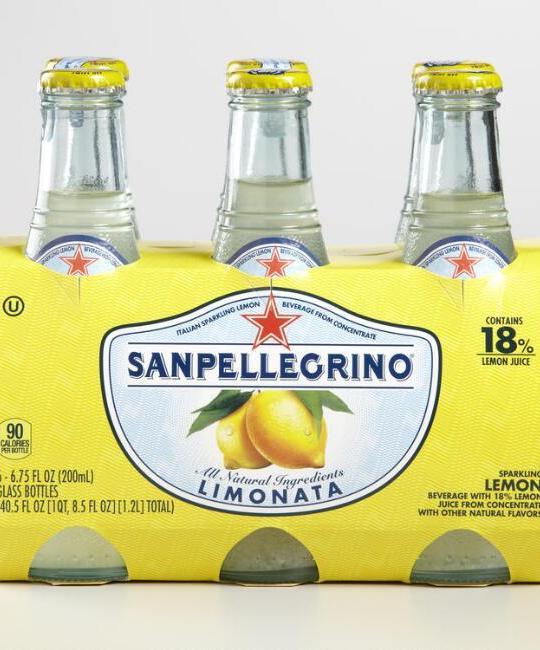 San Pellegrino - Limonata 200ml (6.7oz) Bottle Case - 24 Pack