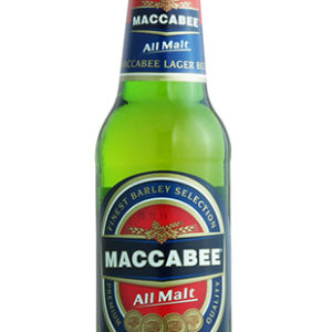Maccabee - Premium Lager 11.2oz (330ml) Bottle 24pk Case