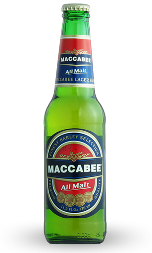 Maccabee - Premium Lager 11.2oz (330ml) Bottle 24pk Case