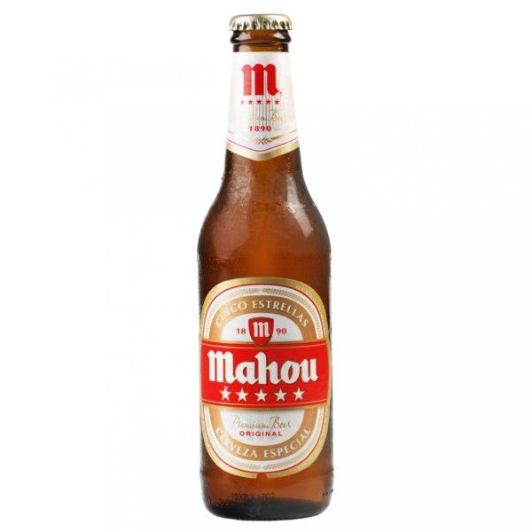Mahou - Lager 12oz Bottle 24pk Case