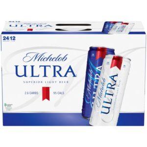 Michelob - Ultra 12oz Can 24pk Case