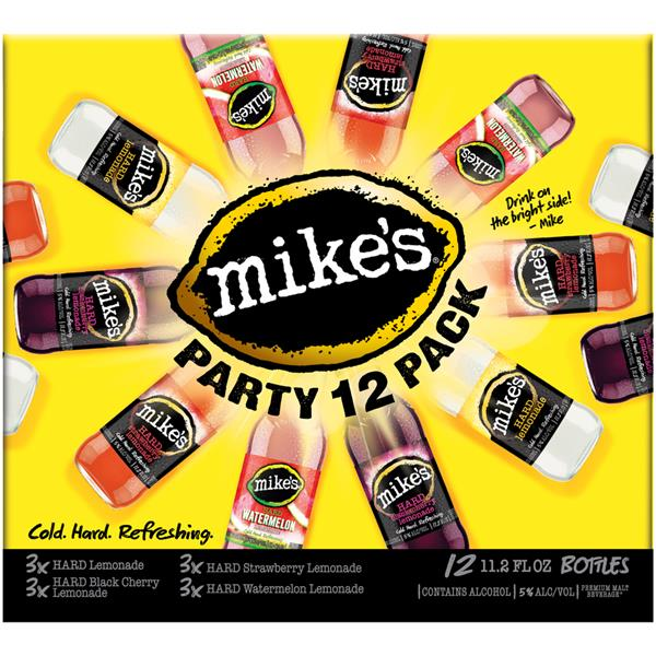 Mike's - Variety Party Pack 11.2oz Bottle 24pk Case