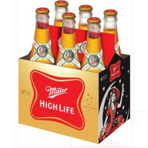 Miller - Hi Life 12oz Bottle 24pk Case