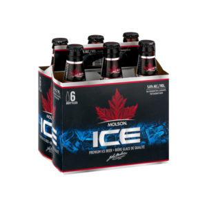 Molson - Ice 12oz Bottle 24pk Case