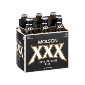 Molson - XXX 12oz Bottle 24pk Case