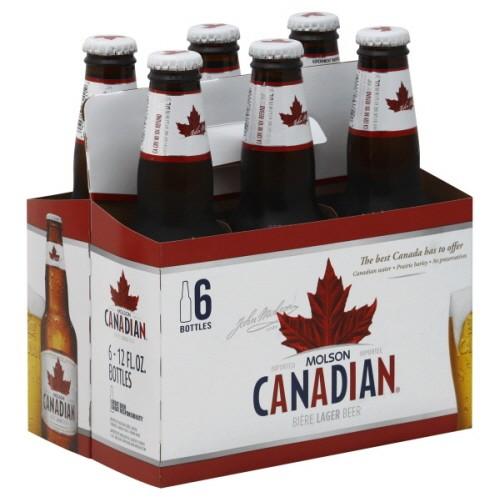 Molson - Canadian 12oz Bottle 24pk Case
