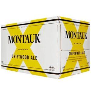 Montauk - Driftwood Ale 12oz Can 24pk Case