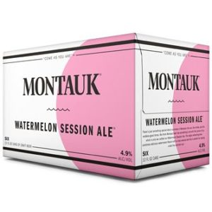 Montauk - Watermelon Session Ale 12oz Can 24pk Case
