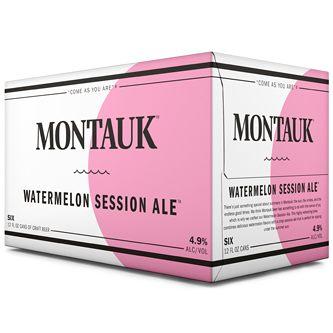 Montauk - Watermelon Session Ale 12oz Can 24pk Case