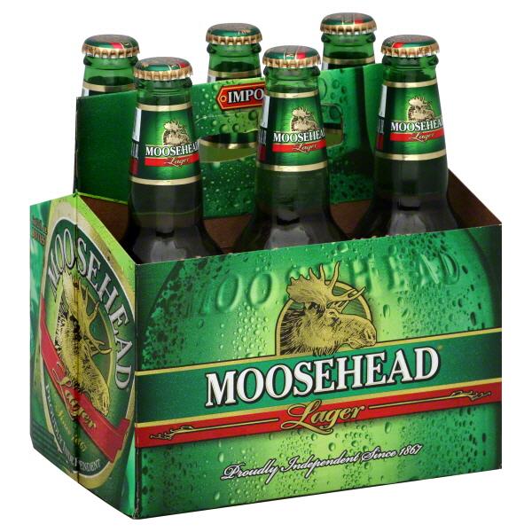 Moosehead - Lager 12oz Bottle 24pk Case