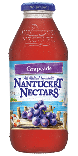 Nantucket Nectars - Grapeade Juice Cocktail 16oz Bottle Case