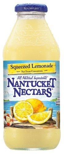 Nantucket Nectars - Squeezed Lemonade 16oz Bottle Case
