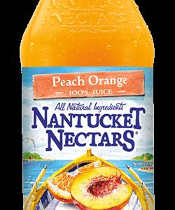 Nantucket Nectars - Peach Orange Juice 16oz Bottle Case