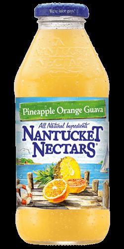 Nantucket Nectars - Pineapple Orange Guava 16oz Bottle Case