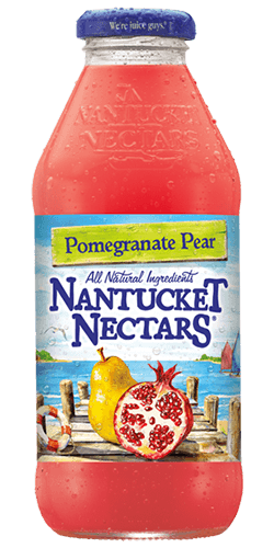Nantucket Nectars - Pomegranate Pear 16oz Bottle Case