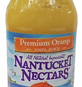 Nantucket Nectars - Orange Juice 16oz Bottle Case