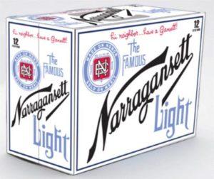 Narragansett - Light 12oz Can 24pk Case